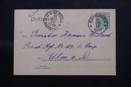 ALLEMAGNE - Entier Postal De Güppingen Pour Ulm En 1902 - L 60174 - Ganzsachen