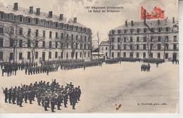 115 ème Régiment D'Infanterie - Salut Au Drapeau Régiment En Marche - NOGENT LE ROTROU ??  PRIX FIXE - Regimientos