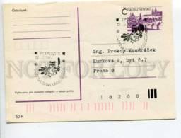 292084 Czechoslovakia 1987 Postal Card Poprad OWL Universiade - Postal Stationery