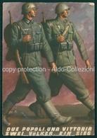 Militari  Due Popoli Una Vittoria Boccasile FG M106 - Italia