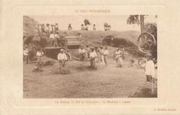 """CP """" Le Battage Du Blé En Gascogne - La Machine à Vapeur """" LE MIDI PITTORESQUE - Ed Cavaillé LAROQUE - Cultures"""