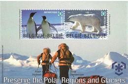 2009 - Protection Du Pôle Nord Et Pôle Sud - BL 166 - Velletjes