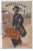CALAIS - CARTE SYSTEME -  Très Bon état - Calais