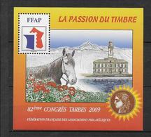 FFAP - 2009 - BLOC Du 82° CONGRES - TARBES - YVERT N°3 ** MNH - FFAP