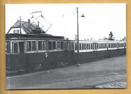 C.P.M.  Maizières-lès-Metz - Le Tram 1950 - Motrice N° 1 Et 3 Remorques - Autres Communes