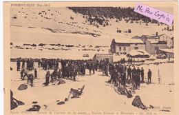 66-FORMIGUERES-Sports D'Hiver-Attente De L'Arrivée De La Course-Station Estivale Et Hivernale-Ecrite 25/10-1940-(5/5/20) - Autres Communes