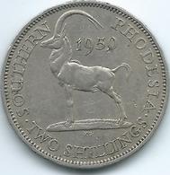 Southern Rhodesia - George VI - 1950 - Two Shillings / Florin - KM23 - Rhodesia