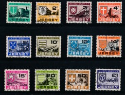 JERSEY, 1978 Postage Due Fine, SGD21-D32 - Guernesey