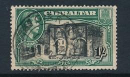 GIBRALTAR, 1938 1 Shiilling P13.5 Fine, SG127a, Cat GBP 6 - Gibraltar