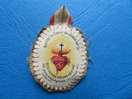 Scapulaire De Poilu  WW1 Sacré Coeur De Jésus 1916 - 1914-18