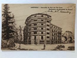 Grenoble Immeuble Du Parc De L'Ile Verte  Réalisation Des Domaines De France  Peu Courante(Isere 38) - Grenoble