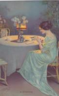 Illustrateur Delphin Enjolras -FEMME -  In Erwartung -A.R C.I.B. 502   (lot Pat 110) - Künstlerkarten