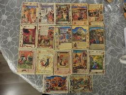 LOT   DE  18     CARTES  POSTALES NEUVES   D IMAGES  DE  G. DELCAUSSE    EPOQUE  MEDIEVALE - Cartes Postales