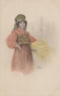 Illustrateurs - Italie - Femmes - Femme En Costume - E. Bottaro - Bottaro