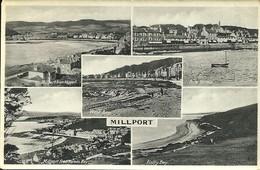 MILLPORT - ISLE OF CUMBRAE - AYRSHIRE - MULTI VIEW - POSTALLY USED 1938 - Ayrshire