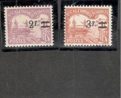 NEW CALEDONIA(French)1926-7:Yvert TT 24-5mnh** Cat.Value20Euros+ - Ongebruikt