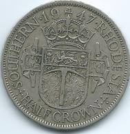 Southern Rhodesia - George VI - 1947 - ½ Crown - KM15b - Rhodésie