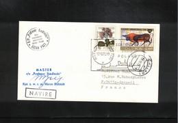 Poland / Polska 1979 Ship R/V Profesor Siedlicki - Ocean Post Interesting Ship Letter - Briefe U. Dokumente