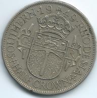Southern Rhodesia - George VI - 1949 - ½ Crown - KM24 - Rhodesia