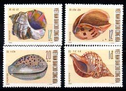 VIET-NAM NORD - YT N° 668 à 671 - Neufs ** - MNH - Cote: 14,00 € - Viêt-Nam