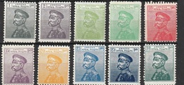 Serbie 1911-14 Lot De 10 Timbres Neufs (G1) - Serbia