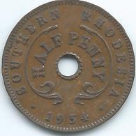 Southern Rhodesia - Elizabeth II - 1954 - ½ Penny - KM28 - Rhodesia