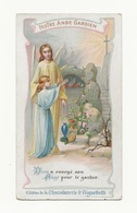 Note Ange Gardien, éd. Chocolaterie D'Aiguebelle - Images Religieuses