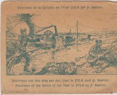 8 Cartes Grand Format Panorama De La Bataille De L'YSER 1914 Par Alfred BASTIEN - Non Classés