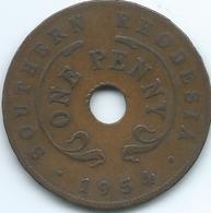 Southern Rhodesia - Elizabeth II - 1954 - Penny - KM29 - Rhodesia