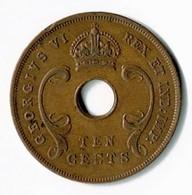 AFRIQUE ORIENTALE BRITANNIQUE / GEORGES VI / DIX CENTS 1942 - Britse Kolonie