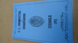 0 - L Vrouwhospitaal In Geraardsbergen - Gidsboekje 1992  (zie Details) - Histoire