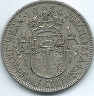 Southern Rhodesia - Elizabeth II - 1954 - ½ Crown - KM31 - Rhodésie