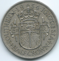 Southern Rhodesia - Elizabeth II - 1954 - ½ Crown - KM31 - Rhodesia