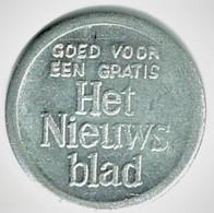 JETON FLAMAND / HET / NIEUWSBLAD / ALU / NON DATE - Nederland