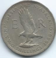 Rhodesia & Nyasaland - 1956 - Elizabeth II - 2 Shillings - KM6 - Rhodesia