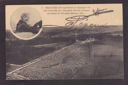 CPA Aviation Signature PEGOUD BUC Non Circulé - 1919-1938: Entre Guerras