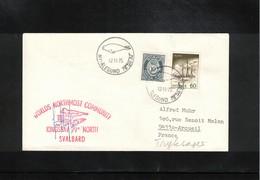 Norway 1975 Kingsbay Svalbard Worlds Northmost Community Interesting Signed Cover - Polar Philately