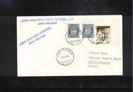 Norway 1976 Jan Mayen Radio And Met.Station Interesting Cover - Polar Philately