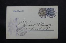 ALLEMAGNE - Entier Postal De Berlin Pour Forst En 1906 - L 60210 - Ganzsachen