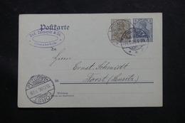 ALLEMAGNE - Entier Postal De Osnabrück Pour Forst En 1906 - L 60211 - Ganzsachen