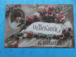 16 : ROUMAZIERES : UN BONJOUR De......, CPA , En Bon état - France