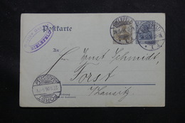 ALLEMAGNE - Entier Postal De Bielefeld Pour Forst En 1906 - L 60212 - Ganzsachen