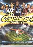 PANINI CALCIATORI 2009-10 ALBUM INCOMPLETO CON 210 FIGURINE - Trading-Karten