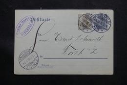 ALLEMAGNE - Entier Postal De Bielefeld Pour Forst En 1906 - L 60216 - Ganzsachen