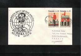 Canada 1977 EUREKA Garden Spot Of The Arctic Interesting Cover - Polar Philately