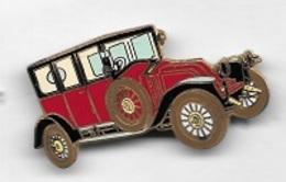 Pin's  Automobile  RENAULT  Rouge  Verso  RENAULT  12 CV  TYPE  JM  1921, J.Y SEGALEN  COLLECTION - Renault