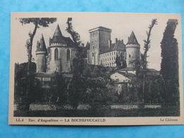 16 : LA ROCHEFOUCAULD :LE CHATEAU  , CPA , En Bon état - France