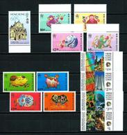 Hong Kong LOTE (4 Series) Nuevo - Hong Kong (...-1997)