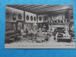 16 : LA ROCHEFOUCAULD :LE CHATEAU , LE GRAND SALON , CPA , En Bon état - France