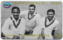 Trinidad & Tobago - Cricket - The 3 W - 118CTTC (Normal 0) - 1996, 222.000ex, Used - Trinité & Tobago